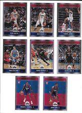 2017-18 Panini NBA Hoops Premium Los Angeles Clippers 8-Card Team Set /199
