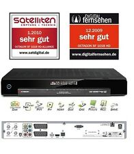Octagon SF 1018 HD Alliance HD TV Twin satellite receiver Linux LAN Ci Ca