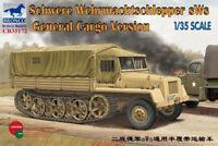 Bronco 1/35 35172 Schwere Wehrmachtschlepper sWs General Cargo Version