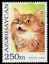 "Azerbaijan 534 - Domestic Cat Breeds ""Somali Cat"" (pa53985)"