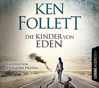 KEN FOLLETT - DIE KINDER VON EDEN  5 CD NEU