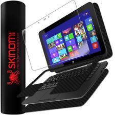 Skinomi Carbon Fiber Black+Screen Protector for HP Split 13.3 X2 Tablet+Keyboard
