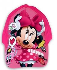 Rose - Taille 52cm Casquette Minnie Disney UV protection 30 UPF