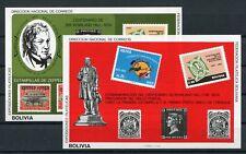 Bolivien Block 94/95 postfrisch / Marke a. Marke ..........................2/494