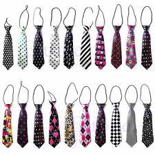 Mode Filles Garçons élastique Tie 30 Styles robe de mariage Cravate enfants