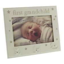 "Bambino Resin Photo Frame 6"" x 4"" First Grandchild  ideal gift  24401"