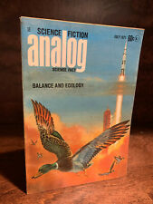 F Paul Wilson The Man With The Anteater in Analog Science Fiction July 1971 Fine