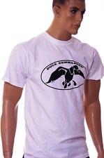 Mens White Black Duck Dynasty Commander SS Hunting T Shirt Cotton Medium NEW