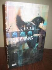 1st Deluxe Edition DEATH Neil Gaiman GRAPHIC Comic Book SANDMAN Classic Fiction