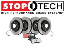 Toyota MR2 Spyder Front & Rear Slotted Brake Rotors Sport Performance Pads KIT