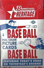 2006 Bowman Heritage Baseball Hobby Box  Jon Lester RC ??