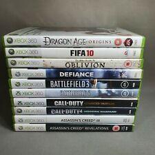 Xbox 360 Spielepaket Restposten Set - 10 Spiele-Mix Spiele Shooting Familie-getestet