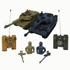 RC Battling Tanks -Set of 2 Full Size Infrared Radio Remote Control Battle Tanks