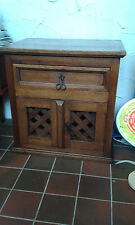 Mexican pine rustic style cabinet