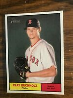 2010 Topps Heritage   #16  Clay Buchholz  Boston Red Sox  NrMt