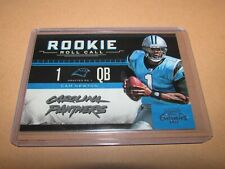 2011 PLAYOFF CONTENDERS ROOKIE ROLL CALL CAM NEWTON PANTHERS #3
