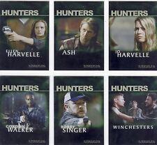 Supernatural Season 2 Chase Card Set Hunters H1-H6
