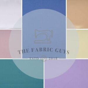 "Premium Plain 100% Polyester Matte Satin, Approx 148cm (58"")"