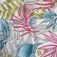 iLiv Maldives Begonia Curtain Craft Upholstery Fabric 4 Metre 100% Cotton