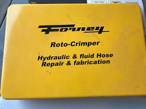 Forney Roto-Crimper Hydraulic & Fluid Hose Repair & Fabrication
