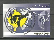 KOSOVO 430  2014 Sport-World Championship of Karate Block  MNH