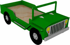 Off-Road Safari Bed Woodworking Plan by Plans4Wood