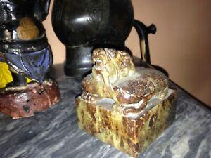 RARE ANCIEN CHINE sceau  en jade époque à déterminer