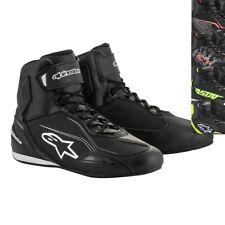 Alpinestars Faster 3 Riding Shoes - 11 Black White