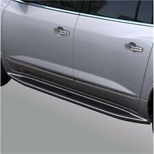 2013-2017 Buick Enclave GM OEM  Assist Side Steps Quicksilver Metallic (17U) NEW