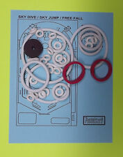 1974 Gottlieb Sky Dive / sky Jump / Free Fall pinball rubber ring kit