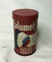 *Vintage Advertising Tin 1/2 LB CALUMET BAKING POWDER Tin Can **EMPTY**