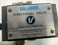 Vickers DG17S4 012N 50 Mechanical Lever Operated Directional Control Valve
