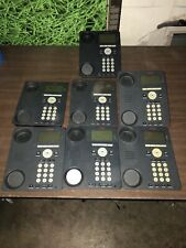 Lot Of 7 Avaya 9620 Ip Voip Business Office Phone No Headsets