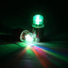 For Car Bike Bicycle Motorcycle Neon LED Lamp Flash Tyre Wheel Valve Cap Light