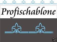 Wandschablone, Malerschablone, Wandfries, Schablone, Deko - Ornamentblütenband