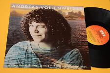 ANDREAS VOLLENWEIDER LP BEHIND GARDENS...MUSIC ELECTRIC HARP..ORIG EX