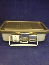 "V. MUELLER GENESIS CD0-3C Mini Sterilization Container 10x6x3"" Good Condition"