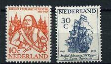 Nederland 1957 693-694 Michiel de Ruyter - POSTFRIS CW 4,50