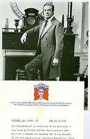 DAVID LANGTON PORTRAIT UPSTAIRS DOWNSTAIRS ORIGINAL 1975 PBS TV PHOTO