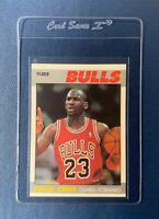 Michael Jordan 1987-88 Fleer Basketball #59 2nd Year Card Chicago Bulls HOF MINT