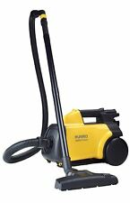 Yellow and Black Convenient Lightweight Corded Canister Vacuum Cleaner