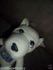 TEAM HEADS PLUSH DOLL FIGURE UCONN HUSKY JONATHON LICENDED COLLEGE MASCOT TOY