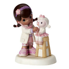New PRECIOUS MOMENTS DISNEY Figurine DOC MCSTUFFIN Doctor Stethoscope LAMB Nurse