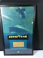 More details for goodyear calendar 1934 framed aviation nautical airship