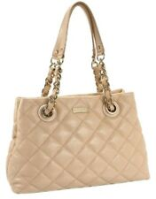 Womens KATE SPADE NEW YORK Gold Coast Maryanne Quilted Cream Handbag Purse $478