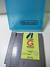 Low G Man Nintendo Nes Game Cart