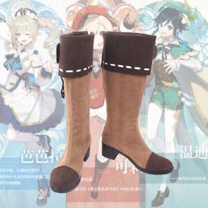 Klee Genshin Impact Cosplay Kostüm Costume Schuhe Shoes Stiefel Boots
