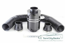 Universal Filter Box Carbon Fiber Induction Kit Air Intake Without Fan Cold Ram