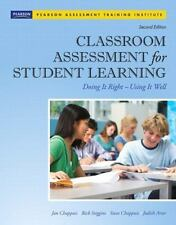 Classroom Assessment for Student Learning 2nd Edition NEW, Ships Anywhere Today!