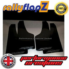 Rally Mudflaps MAZDA 3 MPS Mk2 (2010-13) Mud Flaps 4mm PVC Black Logo Matt Black